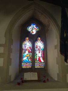 A south aspect window