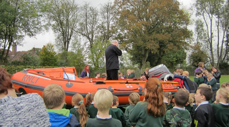 School Assembly in a Boat!