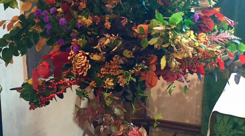 Harvest Thanksgiving flowers